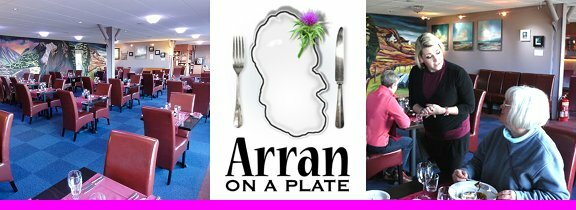 Brodick's leading restaurant, Arran on a Plate